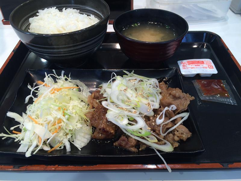 牛カルビ定食(並)