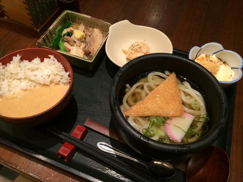 京角煮麦とろ御膳
