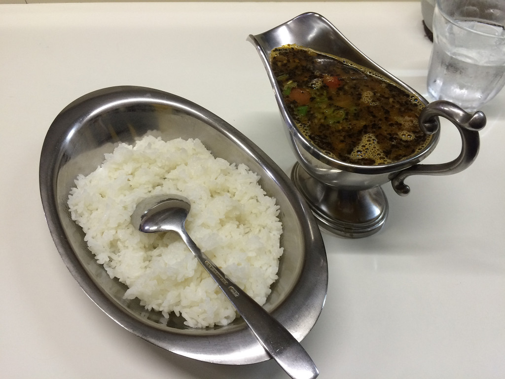 季節のすーぷかれー(辛口) 豆