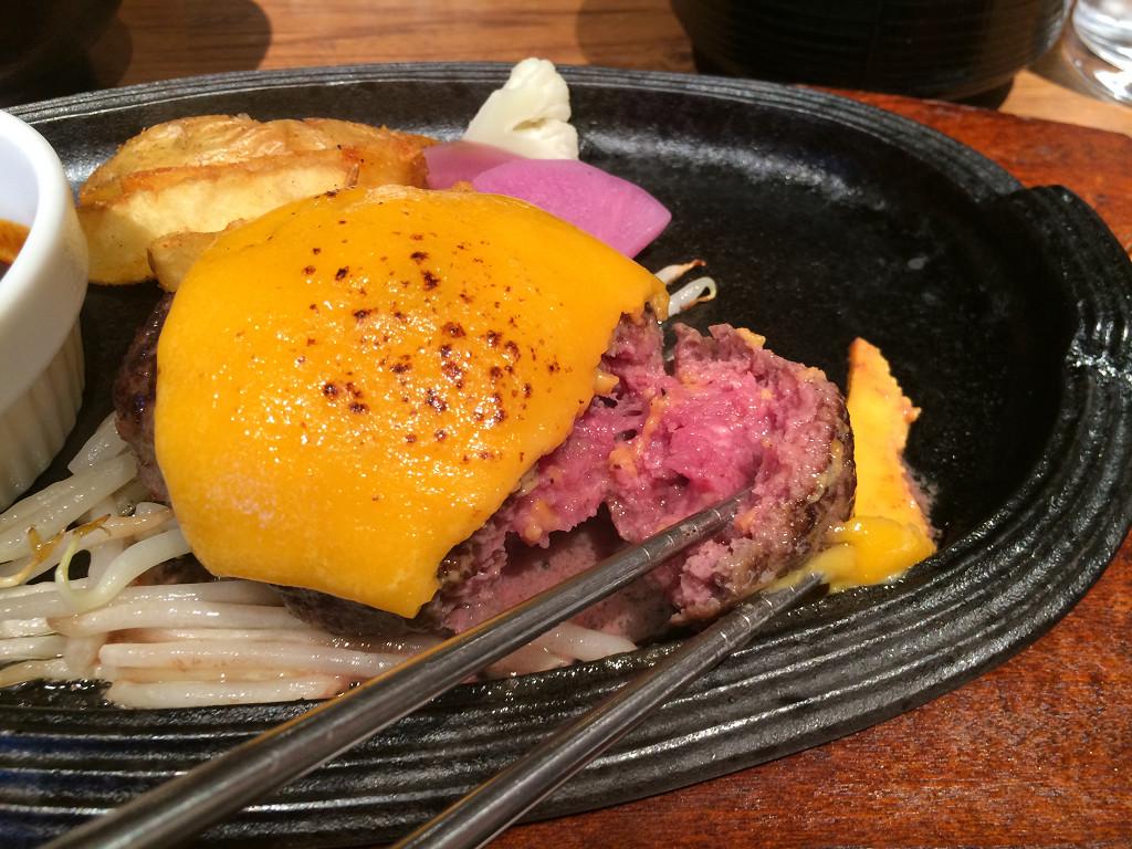 ミート矢澤 黒毛和牛100%デミグラスチーズハンバーグ