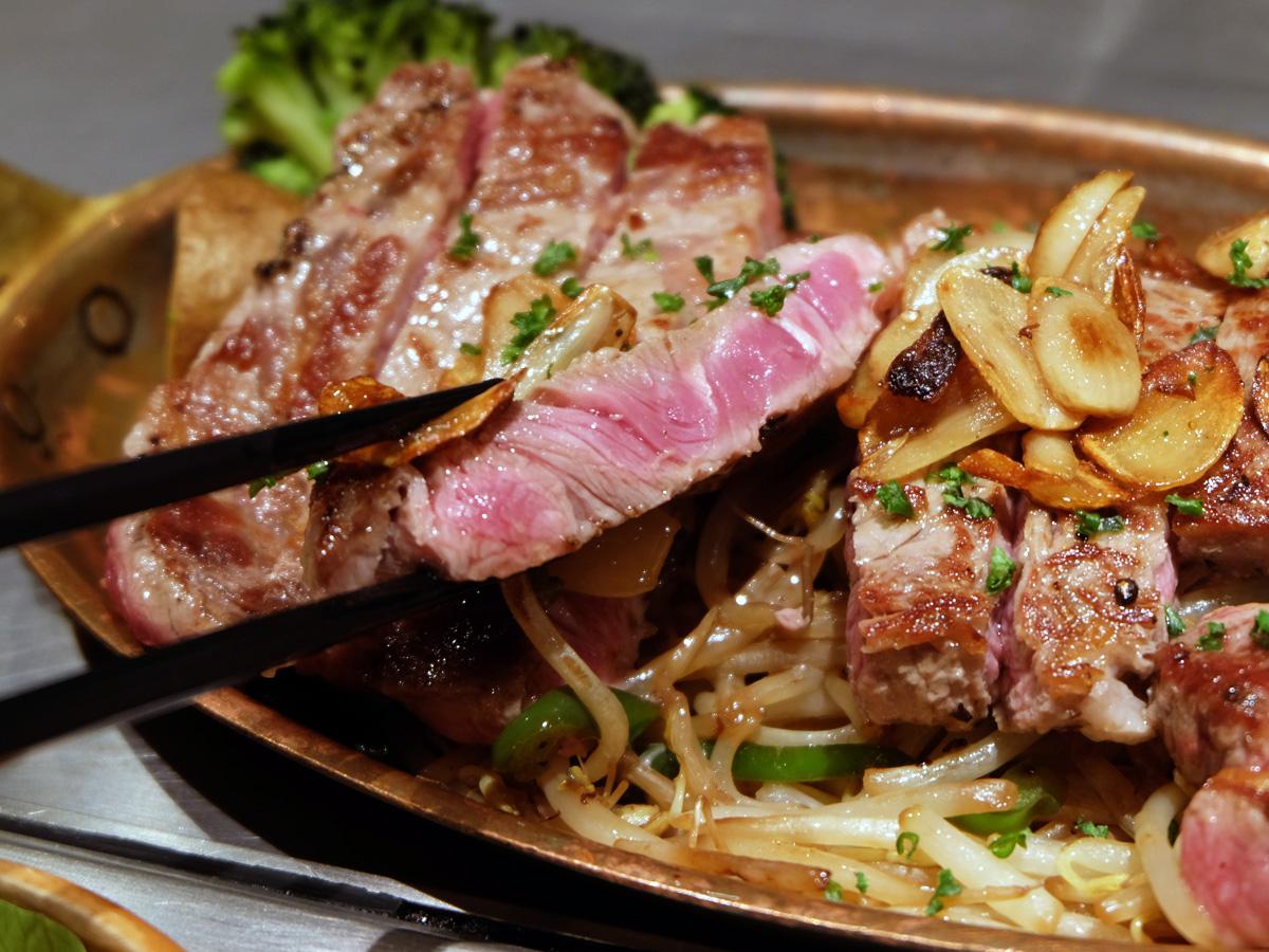 レアで柔らかい肉