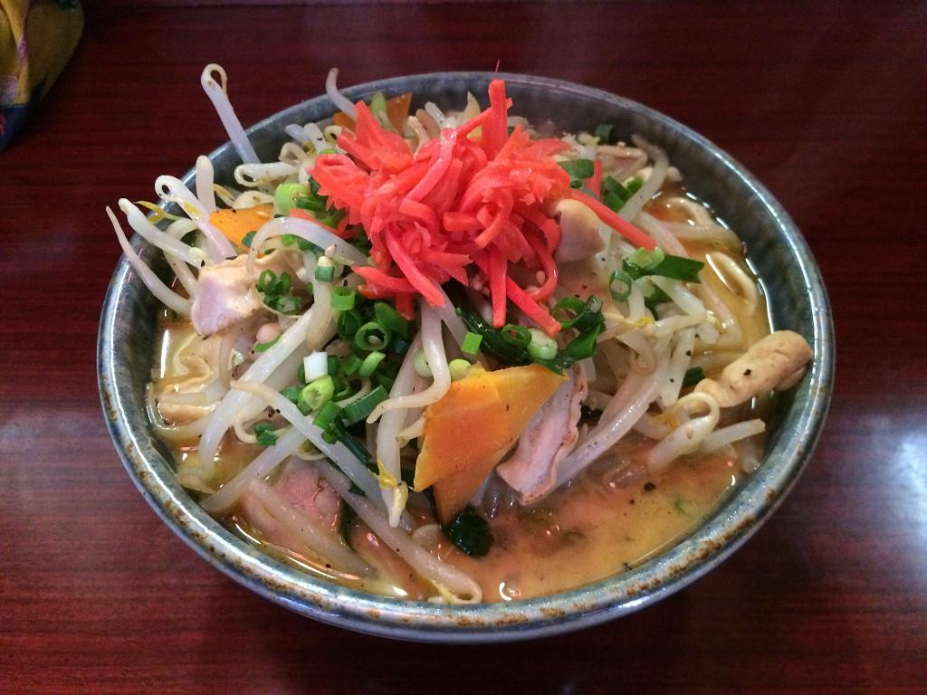 やなわらバー 琉球チャンポン麺