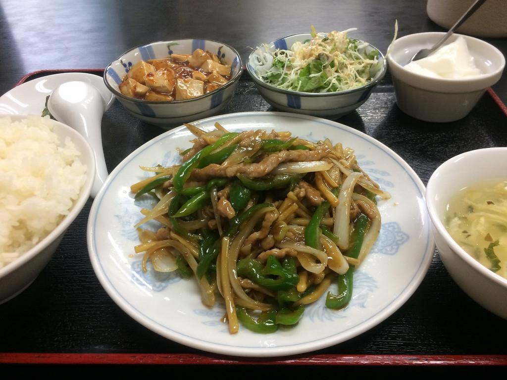 青椒肉絲(チンジャオロース)