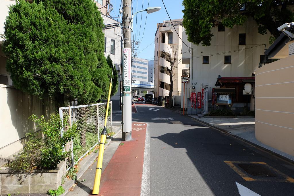 不動前駅から徒歩2分程の場所