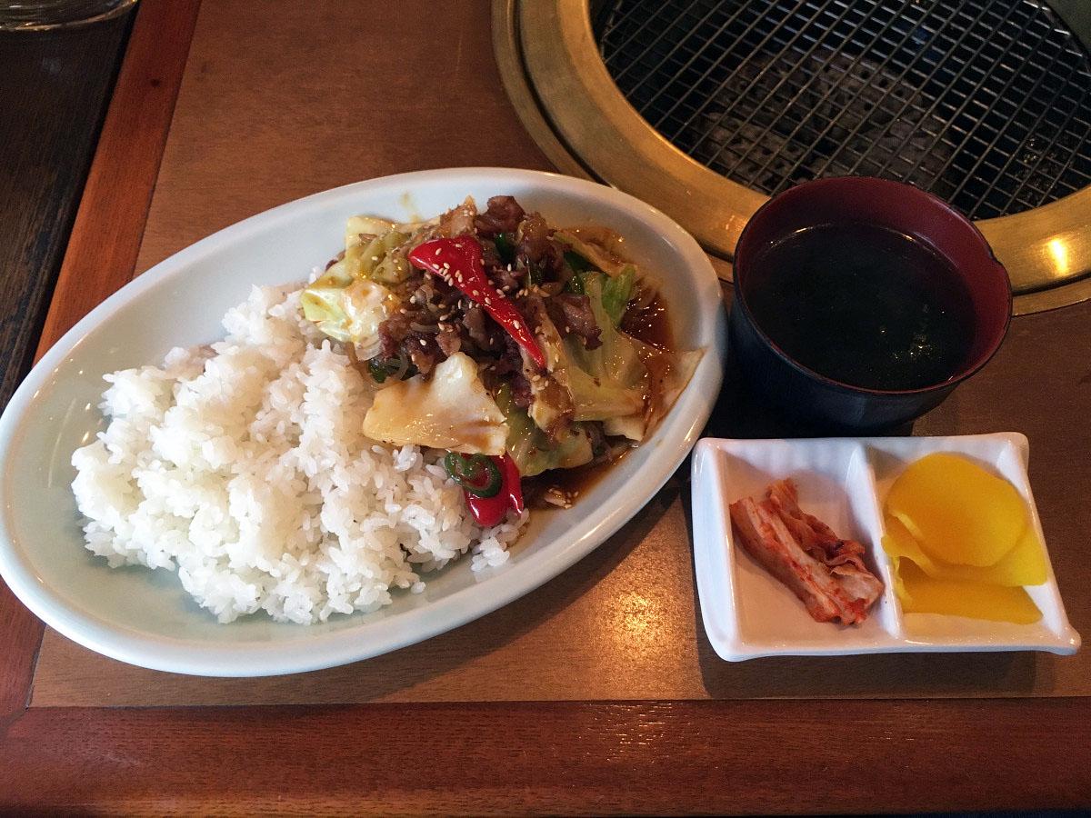 韓国風プルコギ丼セット