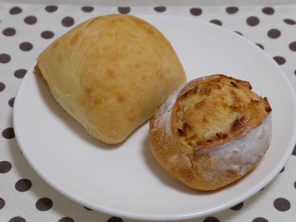 チャバタ、マンゴーとレモンのパン