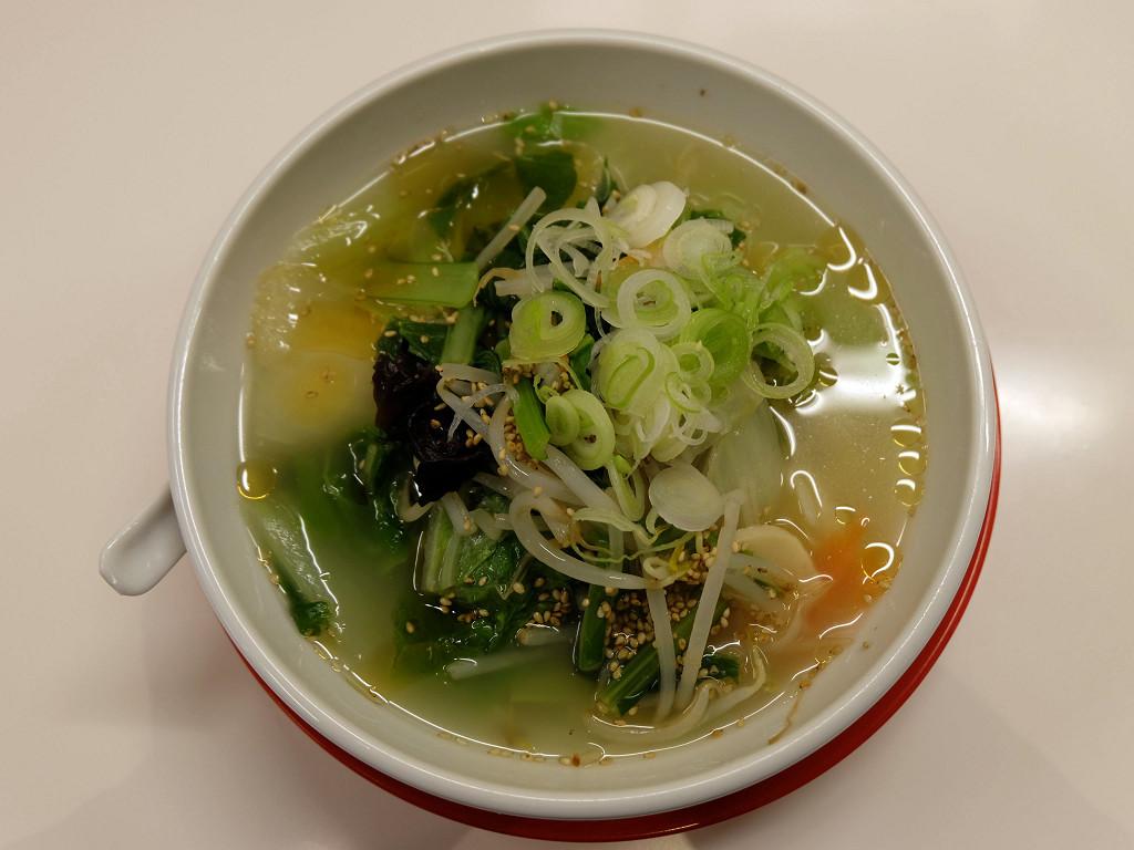 野菜刀削麺 並盛