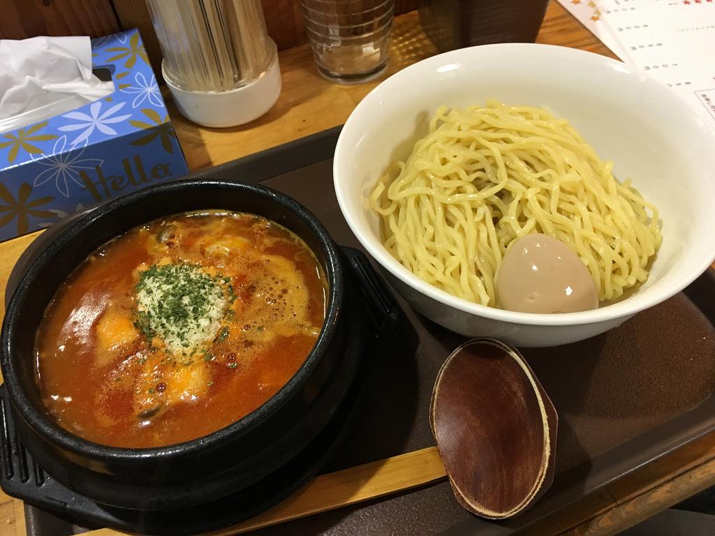 イタリアン風トマトつけ麺