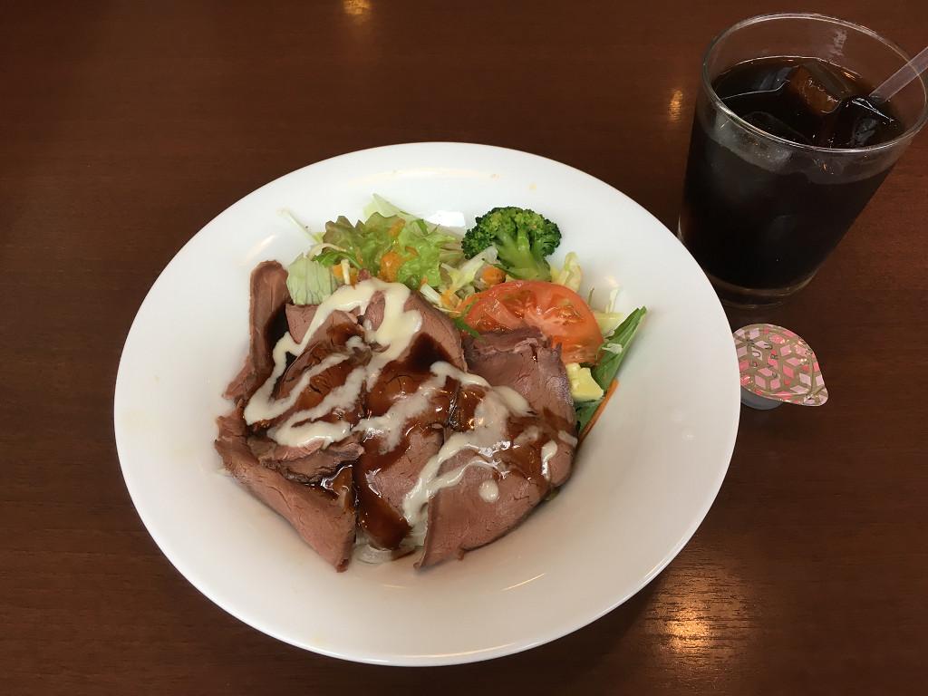 ローストビーフの美健丼