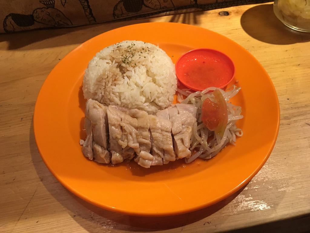 マレーシア鶏飯(蒸)