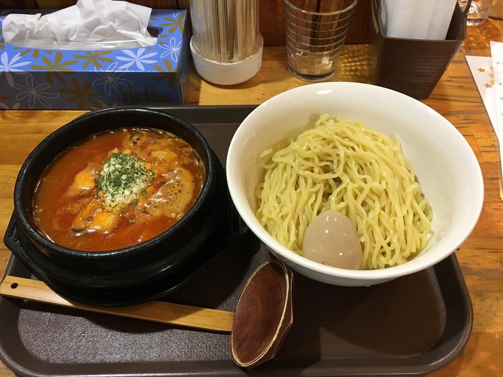 呑み処 談 イタリアン風トマトつけ麺