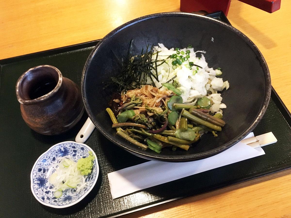 山菜と木ノ子