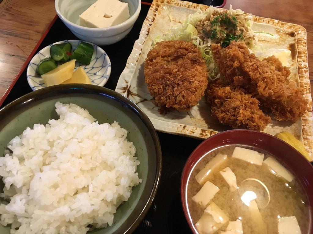 かきフライ・牛肉コロッケミックス