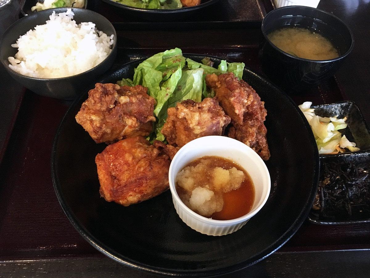 小樽ザンギ定食