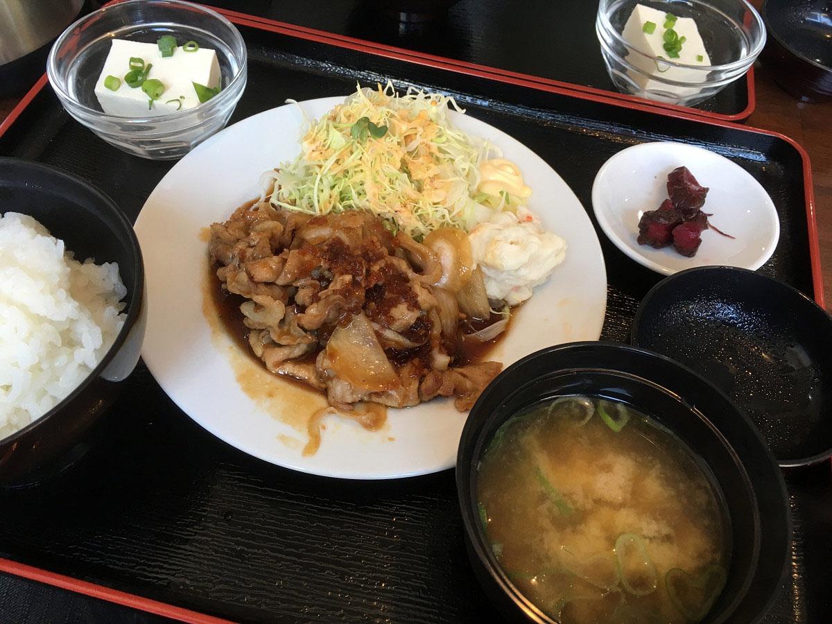 生姜焼セット