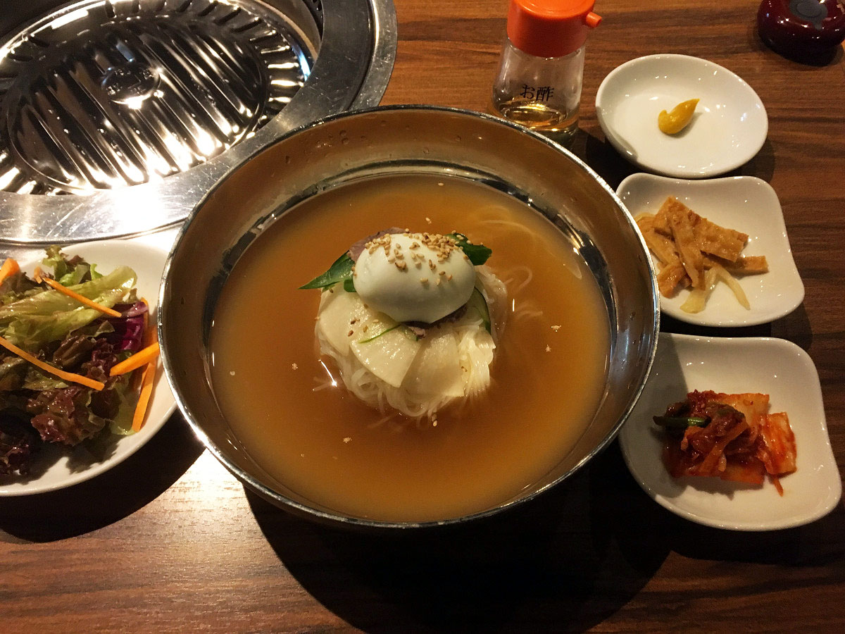 水冷麺定食