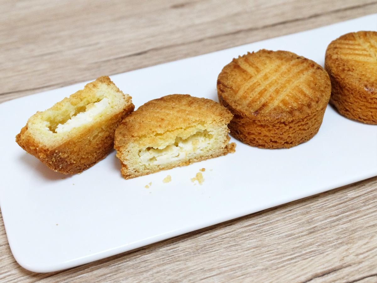 ベイクドチーズ~ガレット仕立て