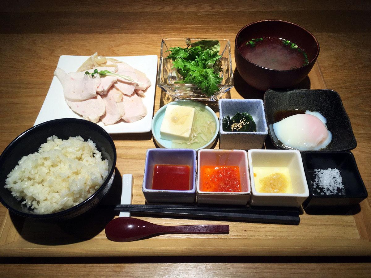 大山鶏 南海チキンライス和膳