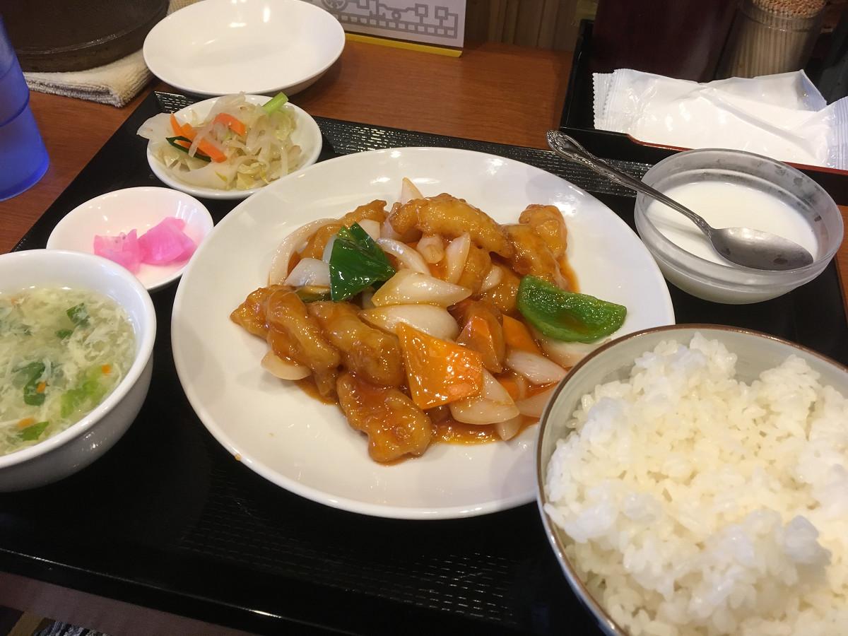 白身魚甘酢炒めセット