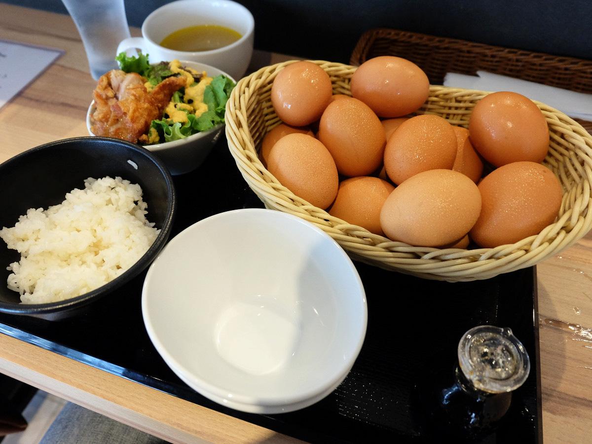 ゆうやけ卵のたまごかけごはんセット