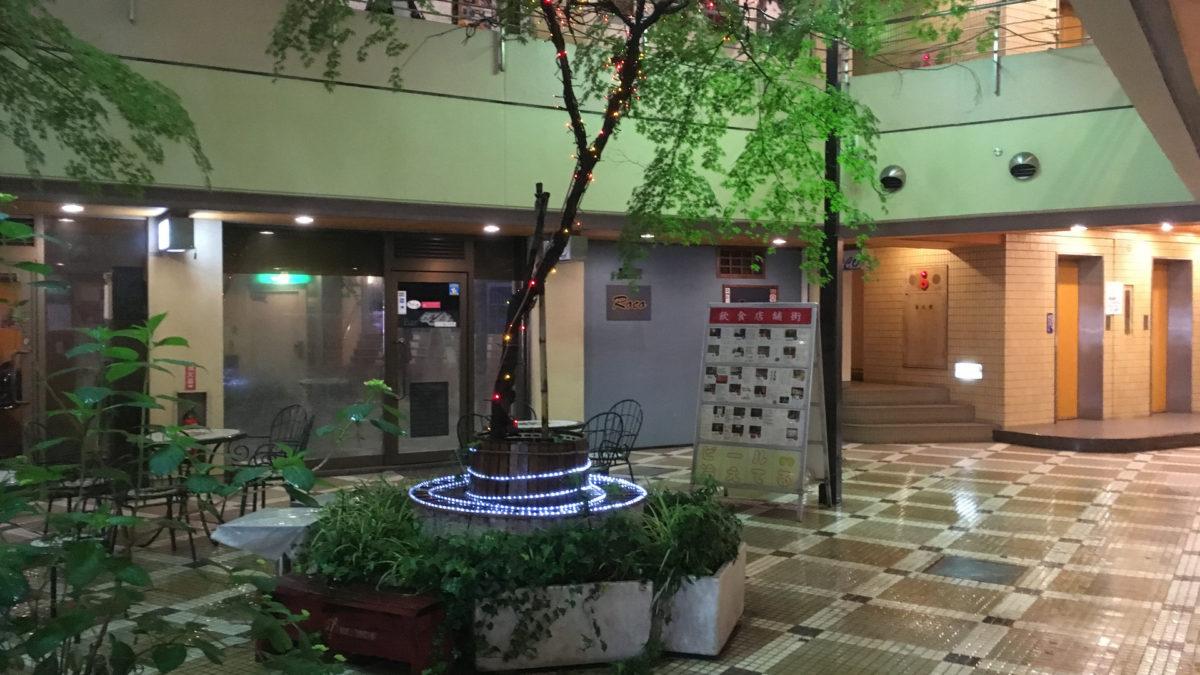 夜の飲食店街