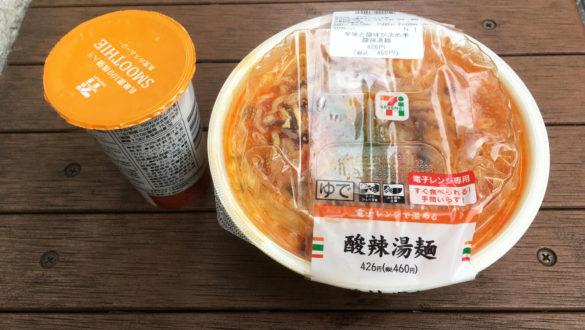 酸辣湯麺、スムージー パッケージ(2018年12月)