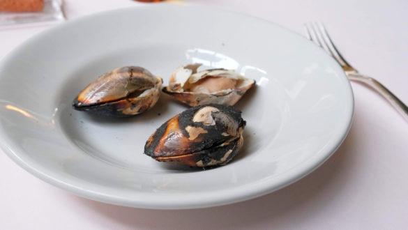 蛤の炭火焼き(2019年2月)