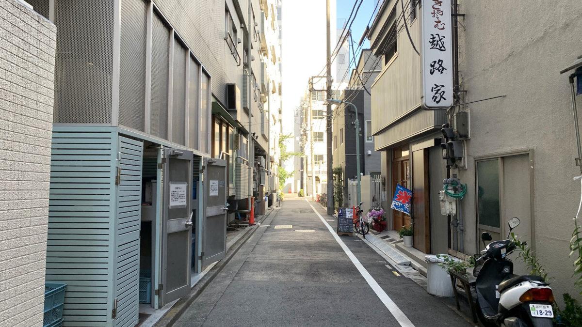 周辺の小道 店舗写真 CAFE IZUMIYA(カフェ イヅミヤ